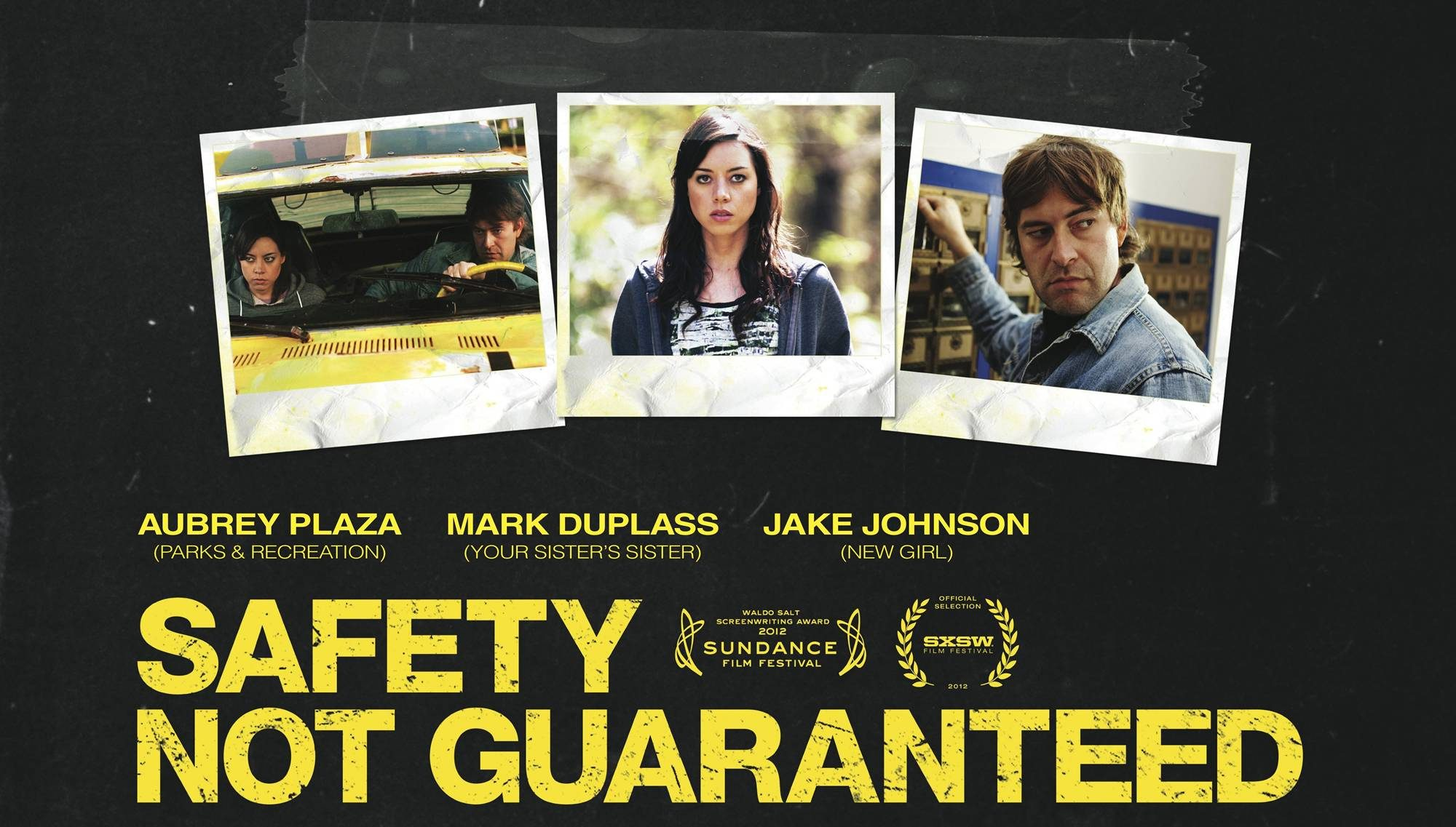 Safety Not Guaranteed Casting