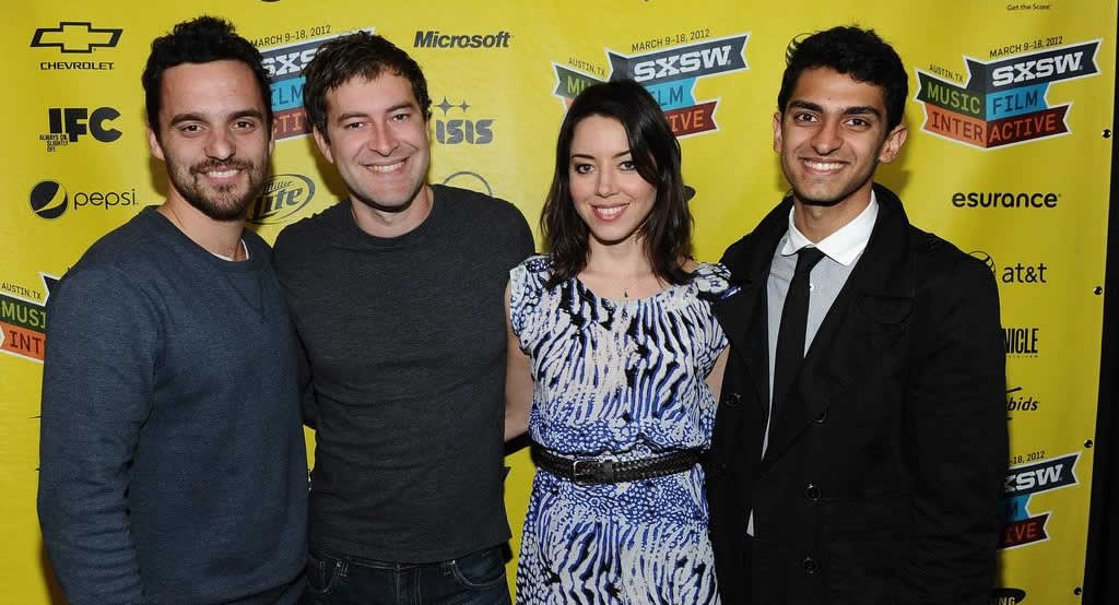 Aubrey Plaza, Mark Duplass, Jake Johnson, Karan Soni